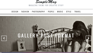Simplemag theme